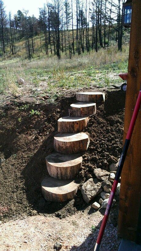 12. Sloping Garden Path