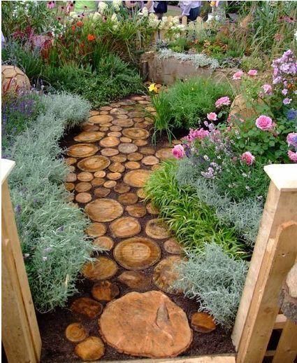 13. DIY Garden Path