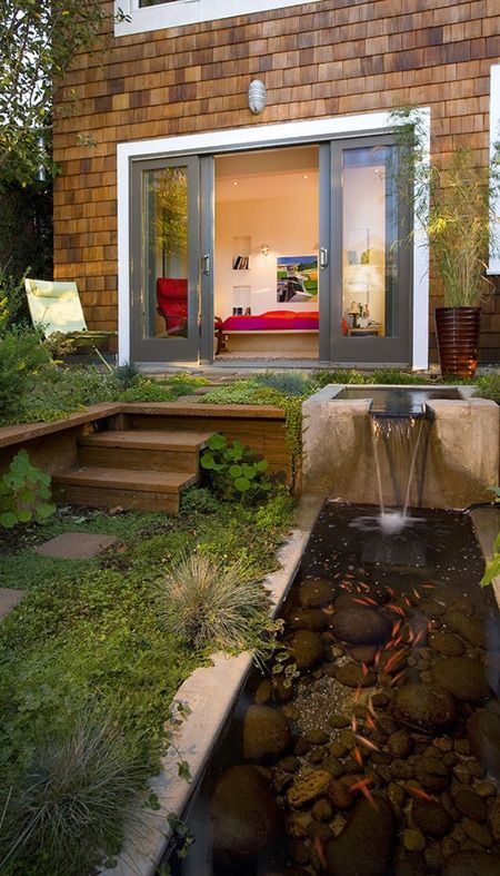 13. Garden Fish Pond Design