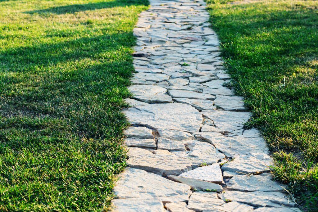 14. Garden Stone Path