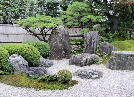 16. Japanese Rock Garden