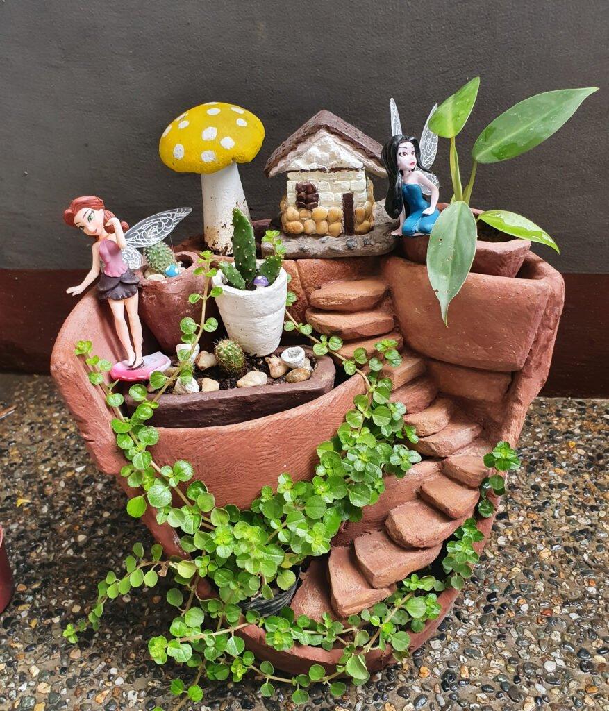 17. Fairy Garden Plant Pot