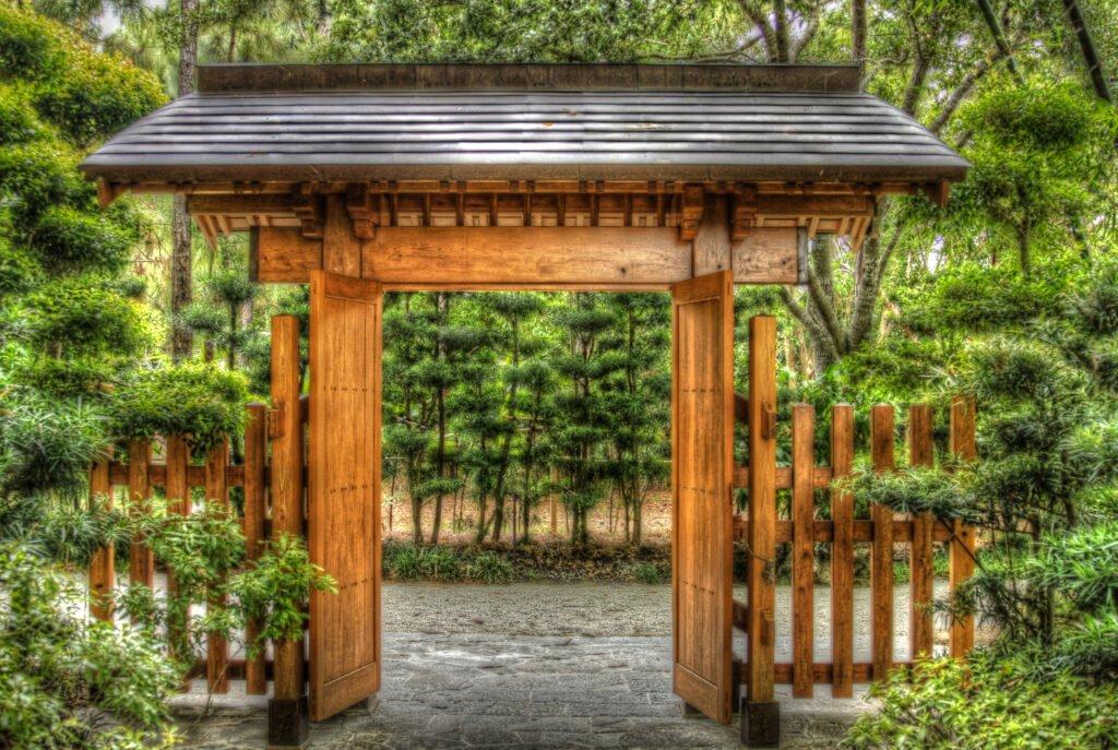 17. Japanese Garden Gates