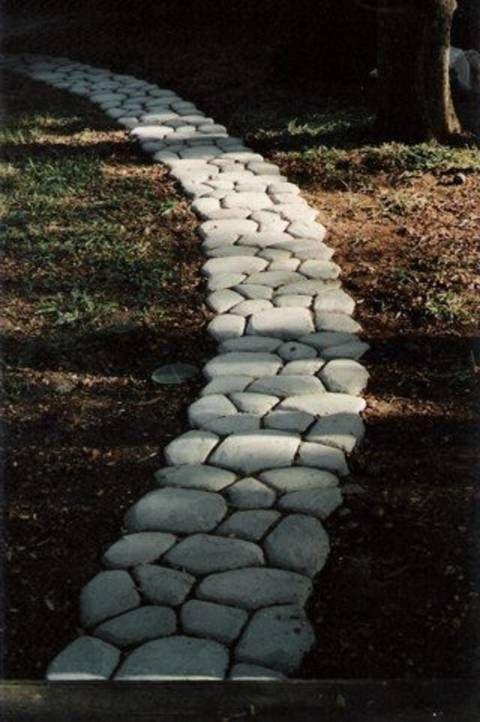 18. Concrete Garden Path