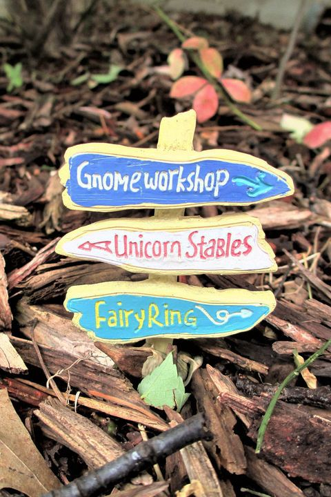 18. Fairy Garden Sign