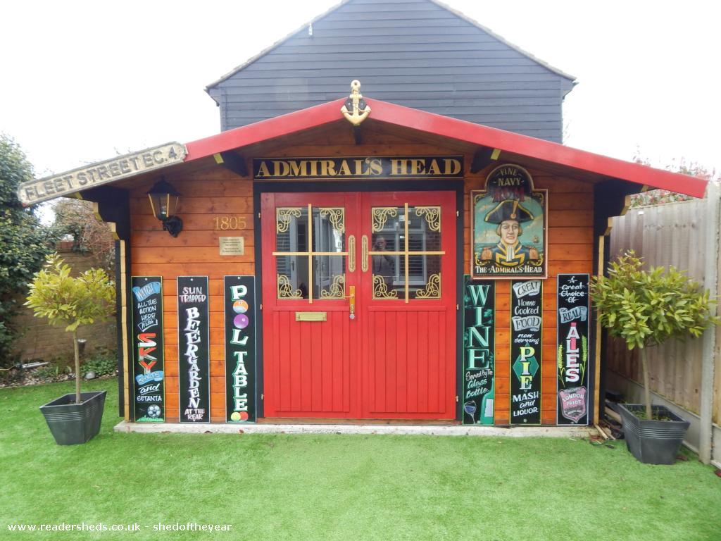 2. Garden Shed Pub