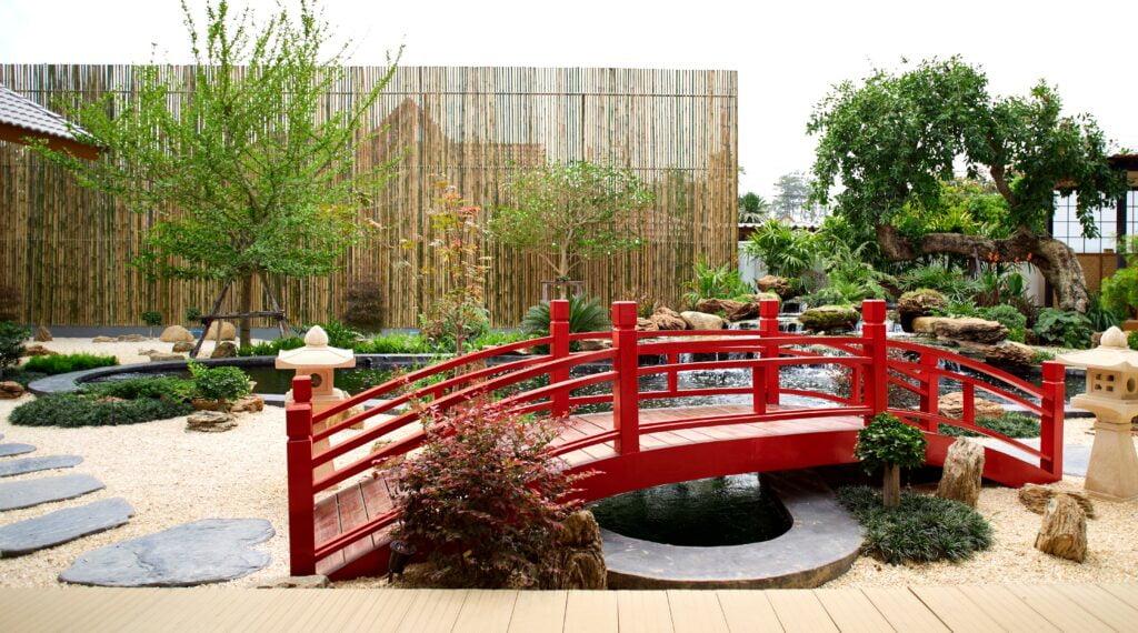 21. Japanese Theme Garden