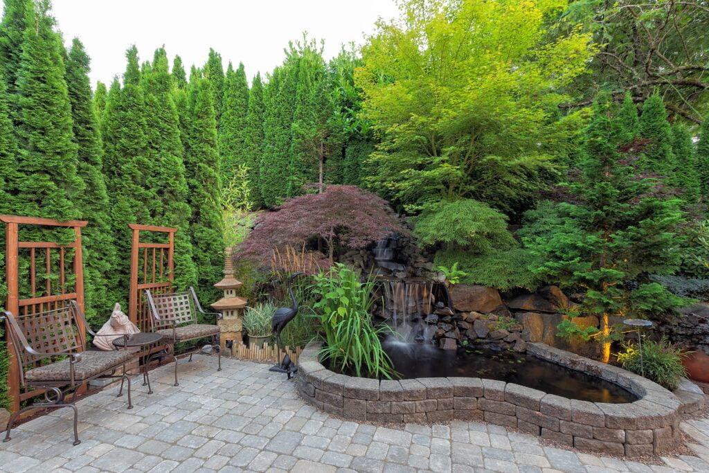 27. Japanese Garden Patio
