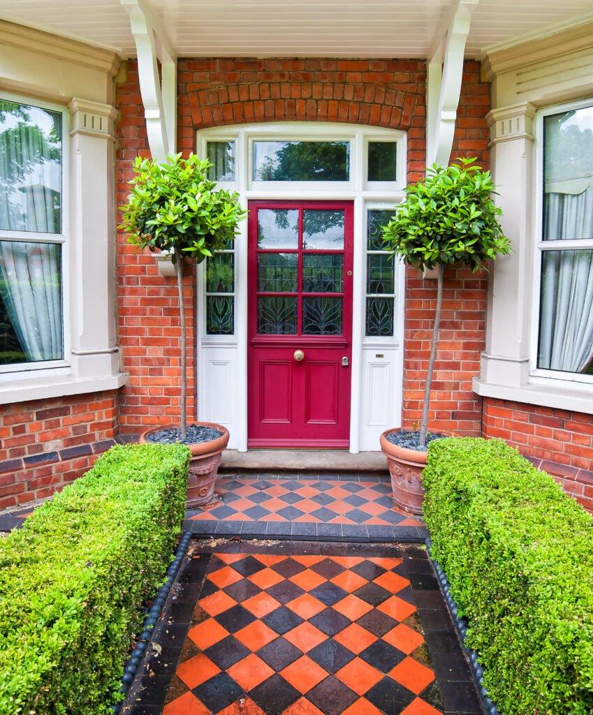 3. Front Garden Path