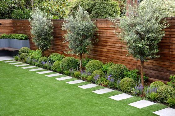 30. Narrow Garden Path