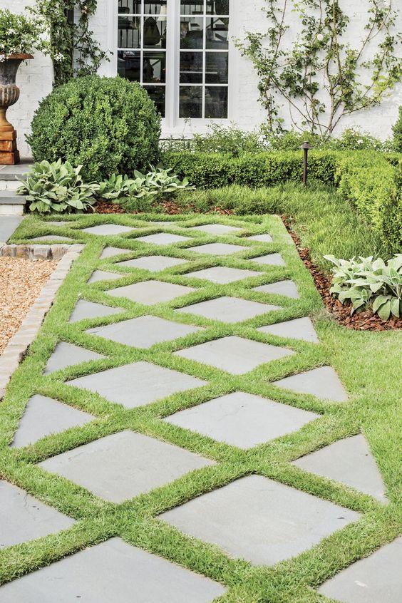 33. Back Garden Path