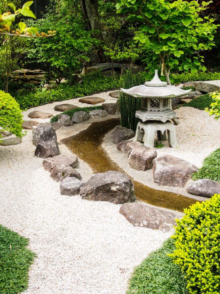4. Japanese Style Garden