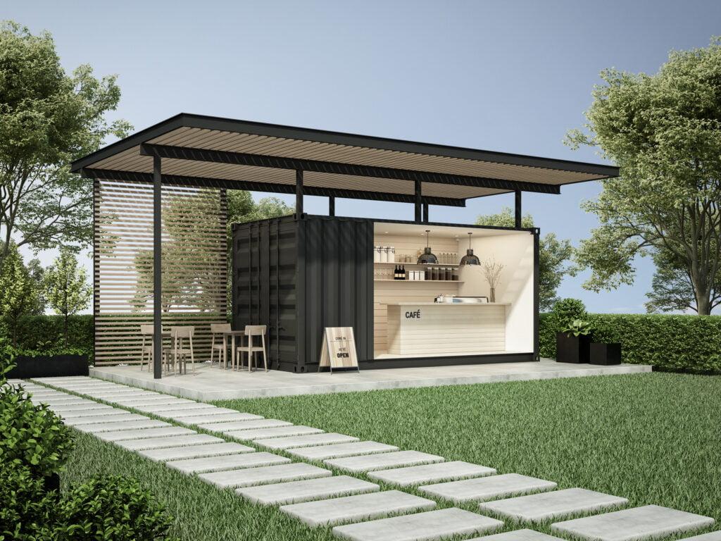 4. Outdoor Garden Bar