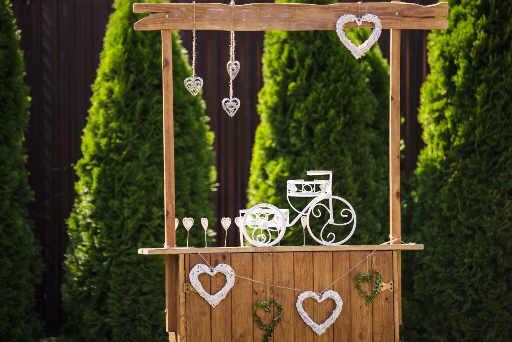 5. DIY Garden Bar