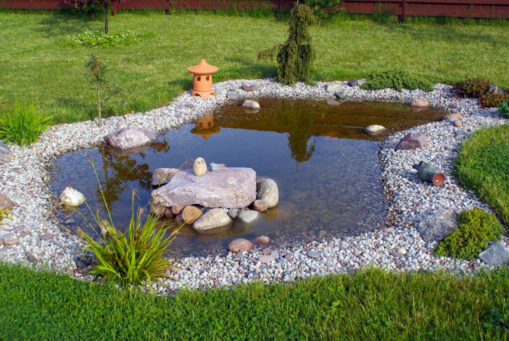 6. Garden Pond Edging