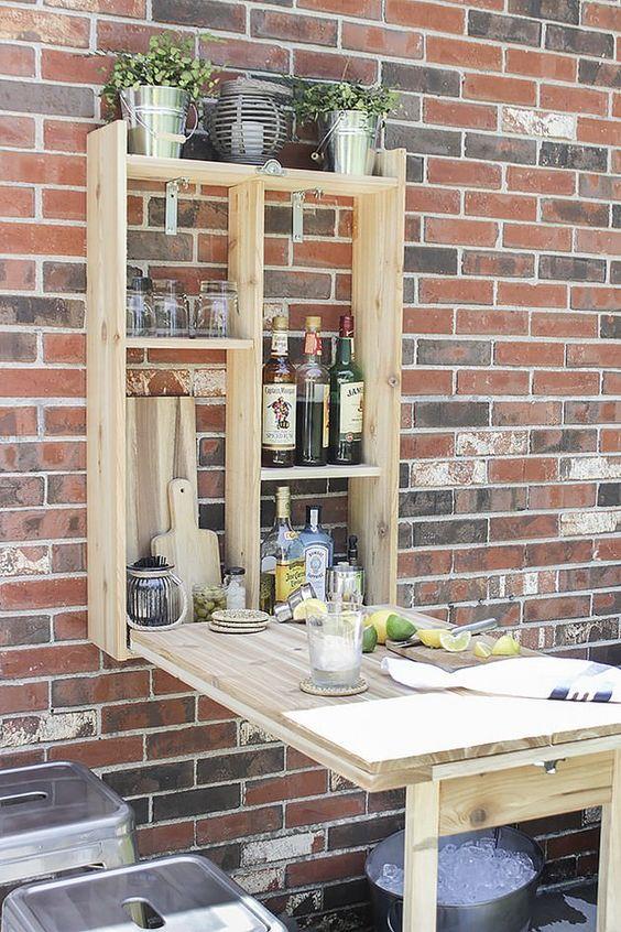 9. Garden Mini Bar