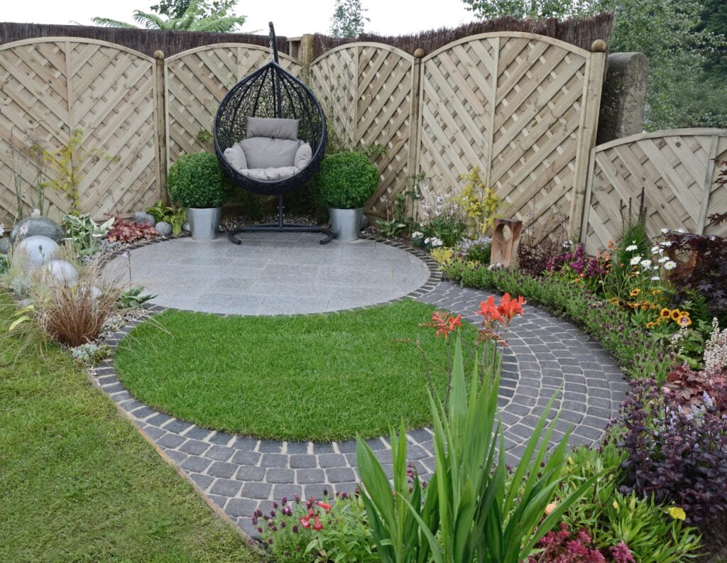 1. Garden Seating Area