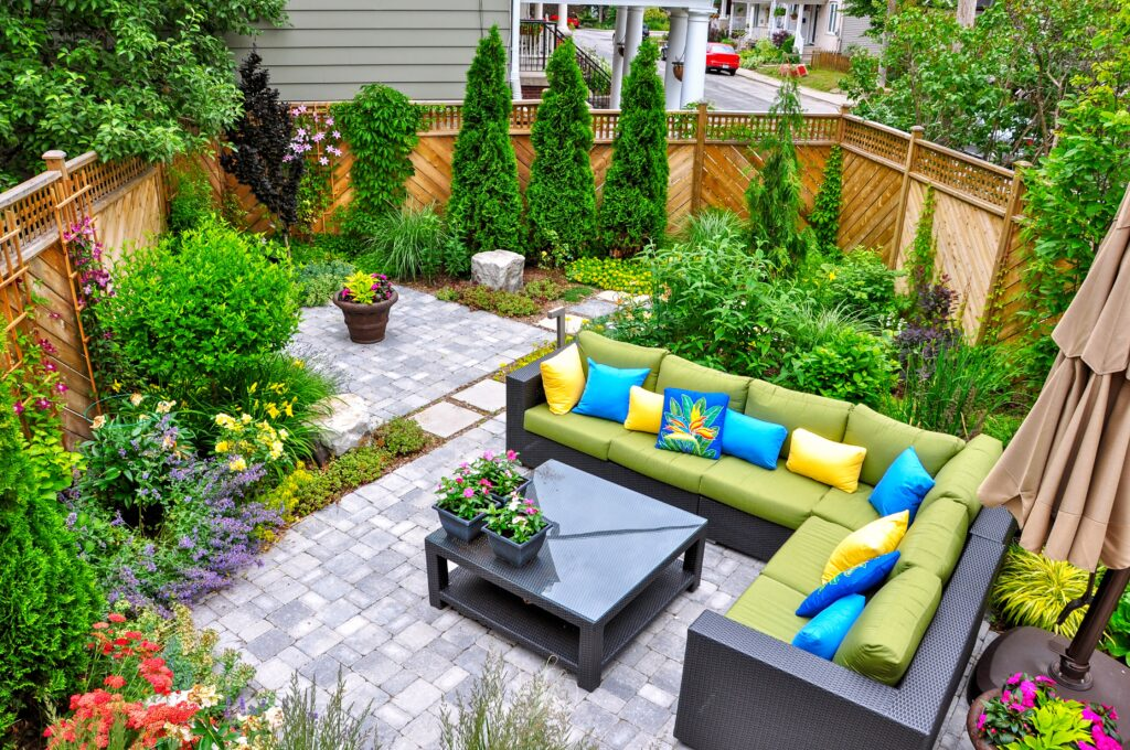 1. Small Garden Landscaping