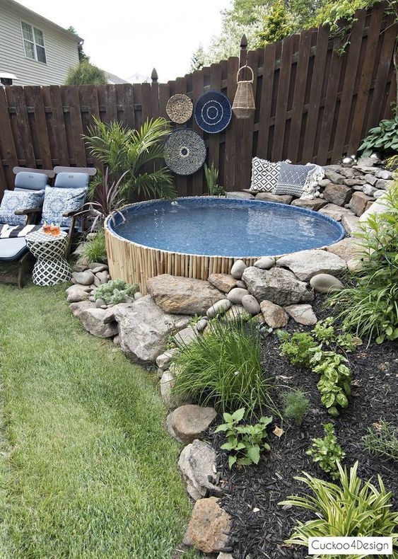 12. Garden Landscaping Pool