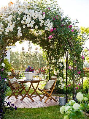 15. Rose Garden Landscaping
