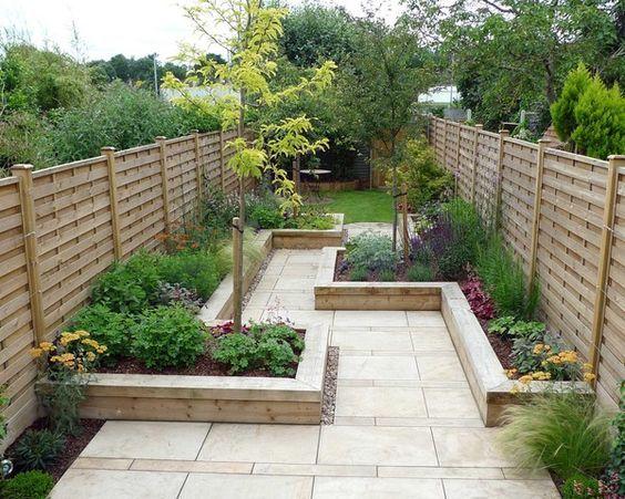 16. Modern Garden On A Budget