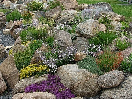 16. Rock Garden Landscaping