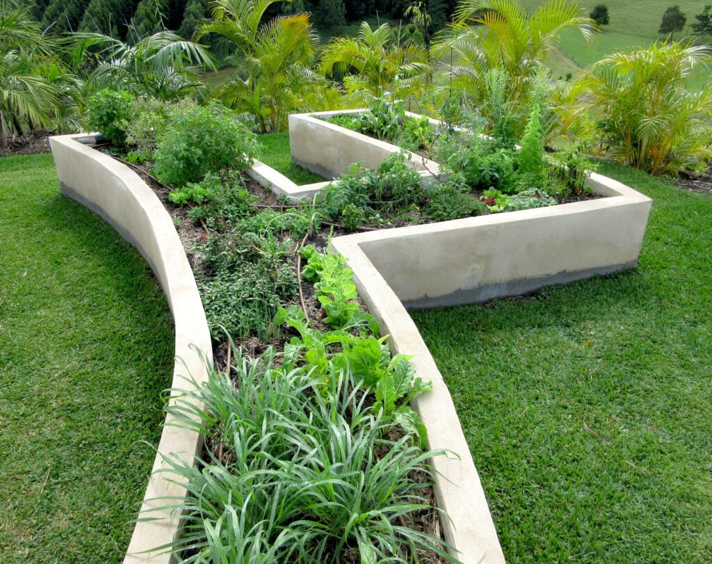 20. Landscaping Rasied Garden Beds
