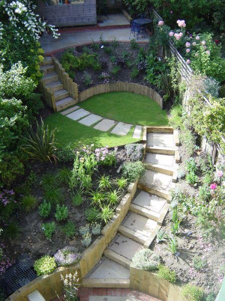 28. Small Terrace Garden Landscaping