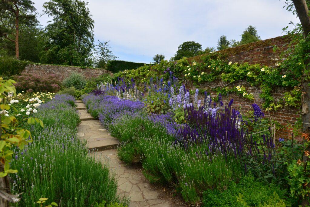 29. Country Flower Garden Border