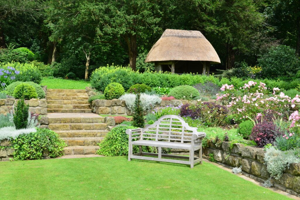 34. English Country Garden Landscaping