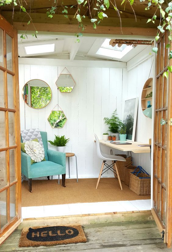 4. Garden Room Decorating