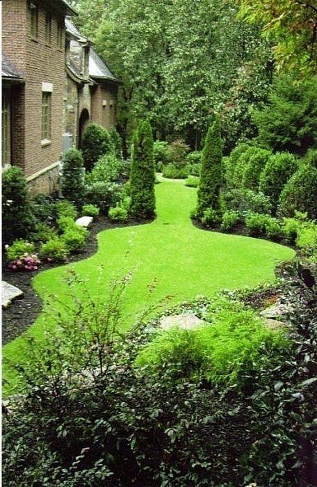 40. Landscaped Garden Borders