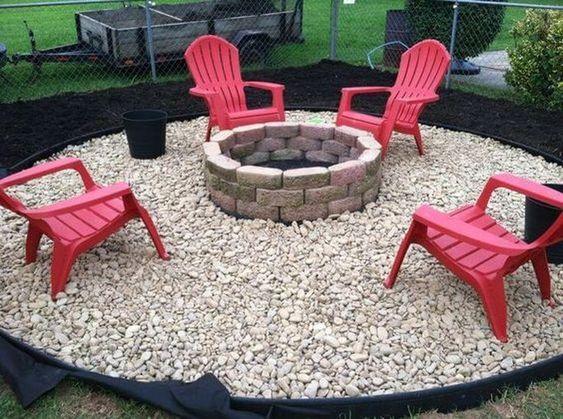 5. Garden Patio on a Budget