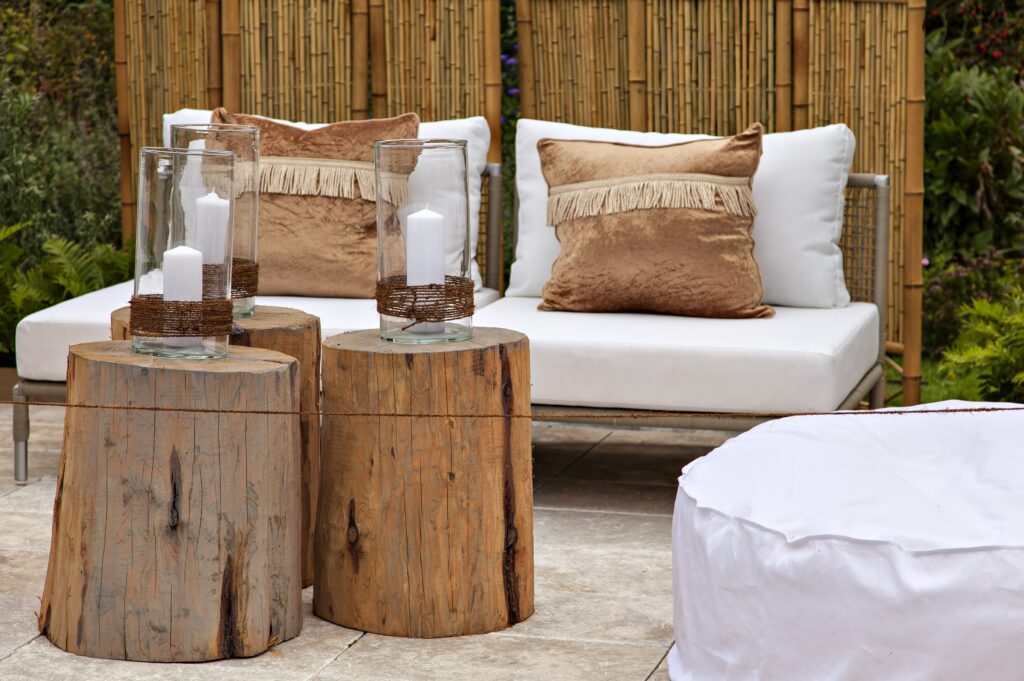 8. DIY Garden Seating