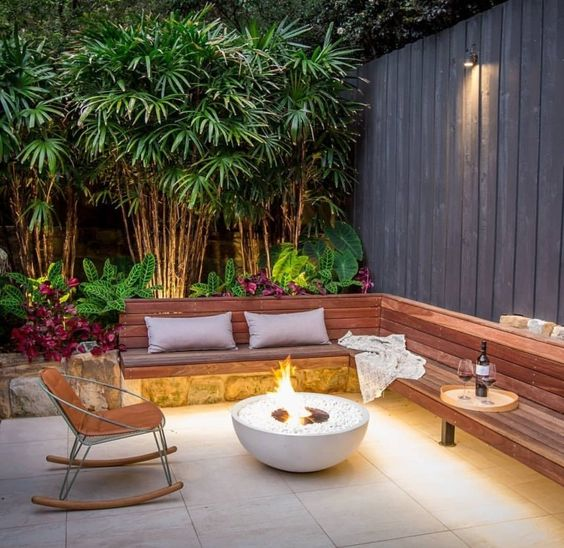 9. Contemporary Garden Seating