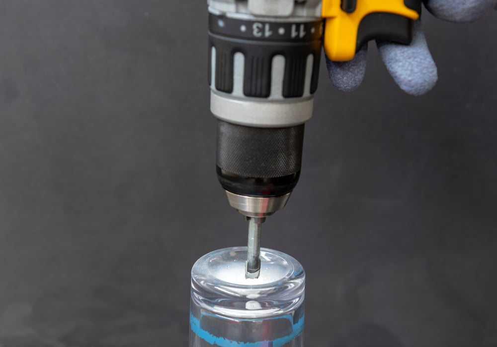 Drilling into Glass