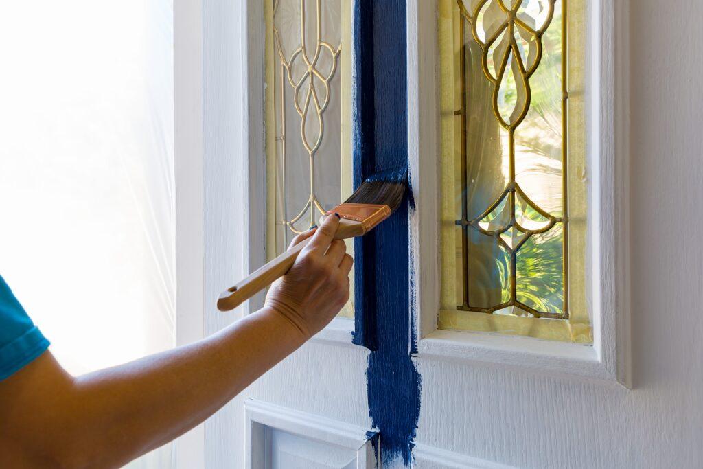 painting-front-door-kerb-appeal