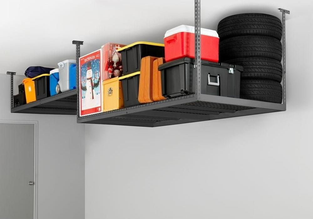 garage-ceiling-wire-storage-rack
