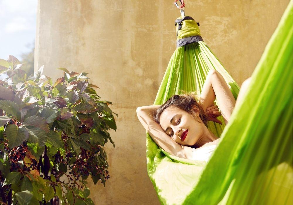 sunbathing-in-a-hammock