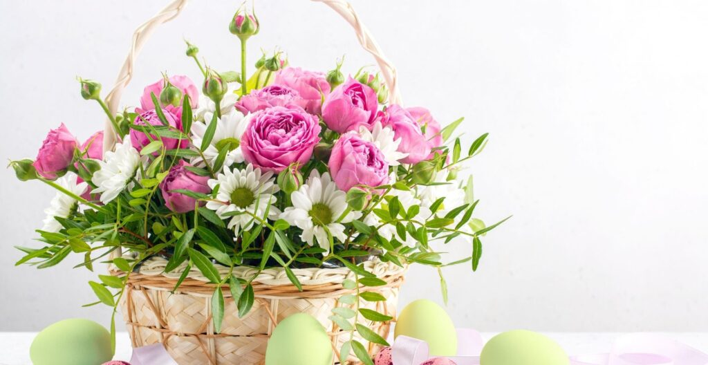 how-to-make-an-easter-flower-basket